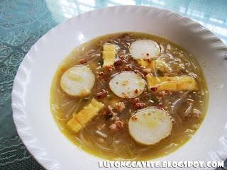 Pork Sotanghon Soup